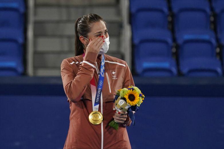 Da Belinda Bencic medalla de oro a Suiza en tenis