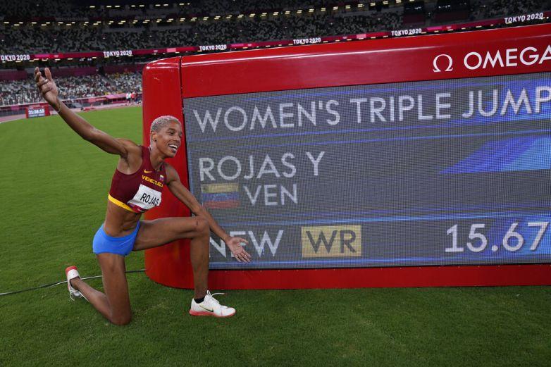 Yulimar Rojas vuela alto: récord mundial y oro olímpico