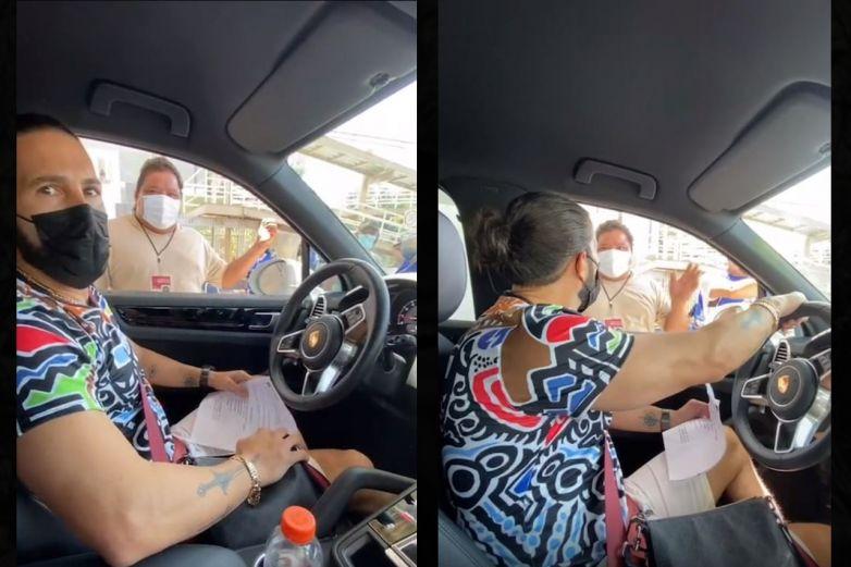 Video: Niegan vacuna a Poncho de Nigris por acudir el día que no le tocaba
