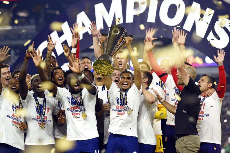 Estados Unidos campeón de la Copa de Oro