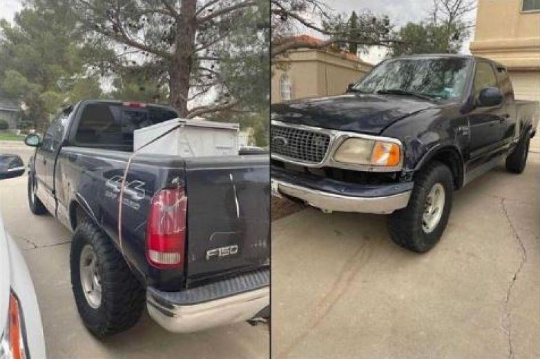 Paseña ofrece camioneta de novio infiel 'sin título ni llaves'