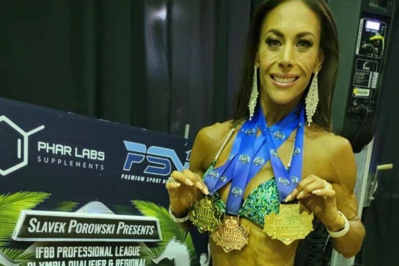 ¡Debut soñado! Vanessa Guzmán triunfa en competencia fitness