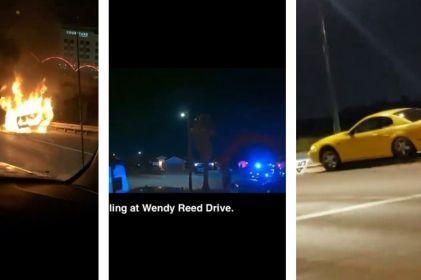 Video: Como en GTA, vive El Paso una noche violenta