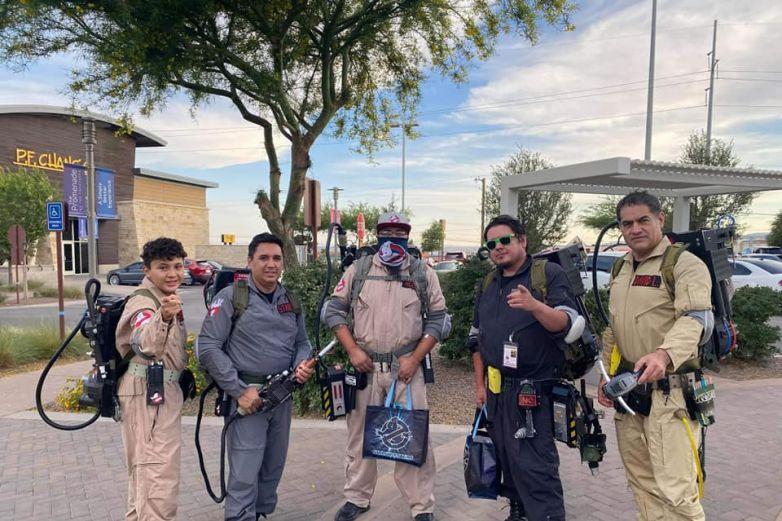 Los Ghostbusters de El Paso se pasearán en el tranvía