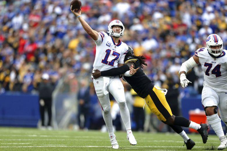 Steelers elevan sus expectativas con victoria en Buffalo