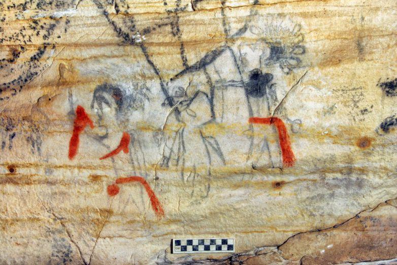 Subastan cueva de Missouri con pinturas de hace mil años