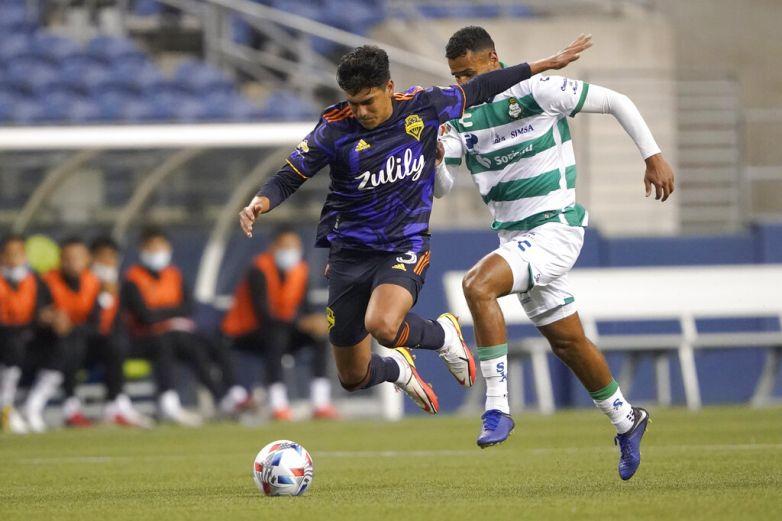 Cae Santos ante Seattle en semifinal de Leagues Cup