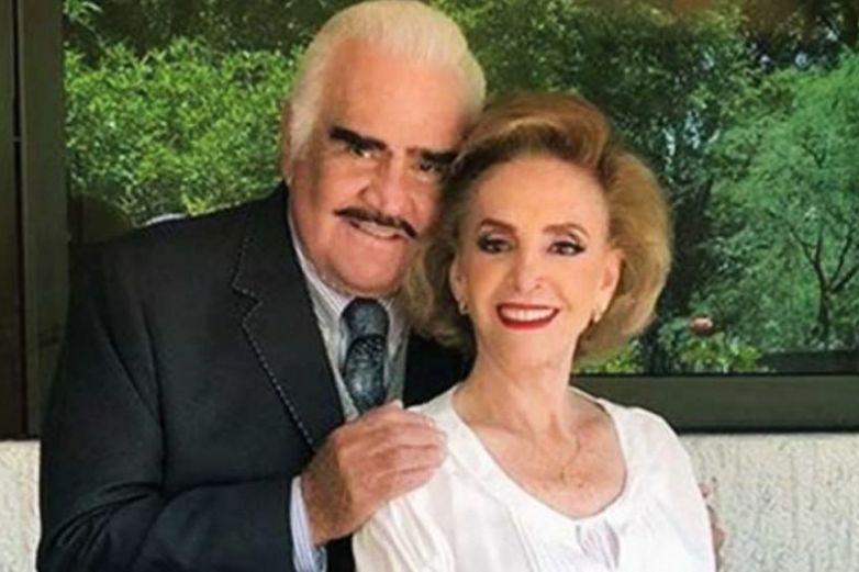Internan de emergencia a esposa de Vicente Fernández