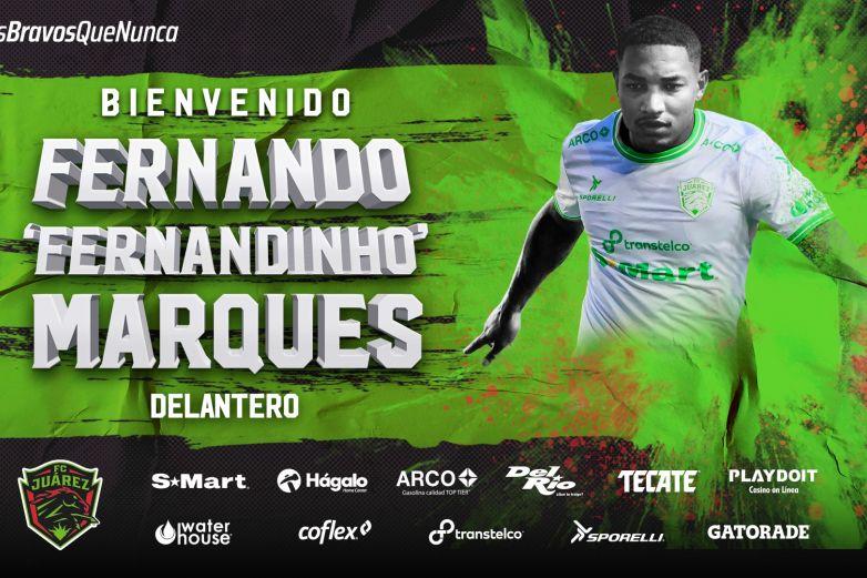 Refuerza Fernandinho delantera de Bravos