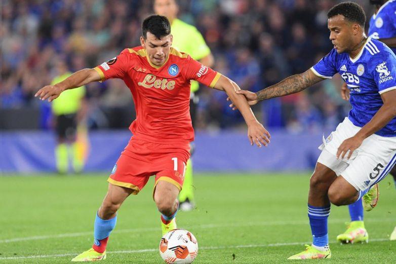 'Chukcy' Lozano y el Napoli firman el empate con Leicester