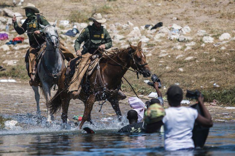 Mayorkas 'horrorizado' por imágenes de campamento migrante