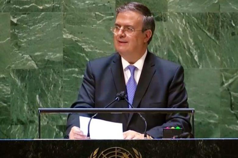 Llama Ebrard ante la ONU a levantar embargo a Cuba
