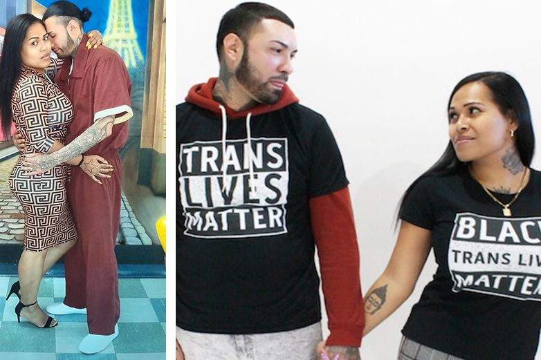 Prisionero se casa con mujer trans que conoció en la prisión