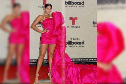 Lista Andrea Meza para su participación en los Billboard