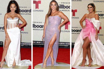 Los mejores looks de la alfombra roja de los Premios Billboard 2021