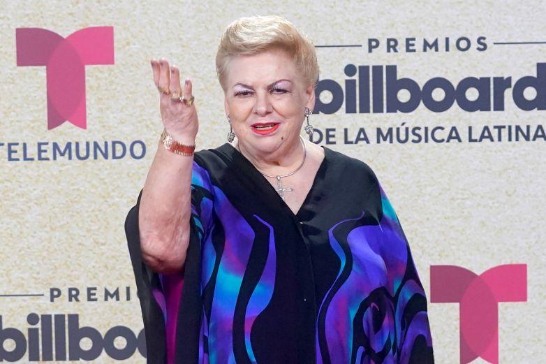 'Eres un inútil', Paquita la del Barrio a Bad Bunny al recibir Billboard