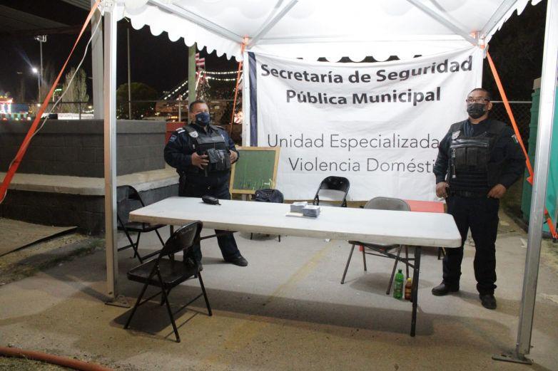 Instala Feria módulos de resguardo de menores extraviados