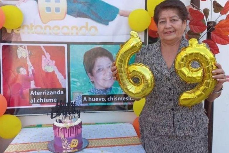 Celebra su cumpleaños como Paty Chapoy y se vuelve viral