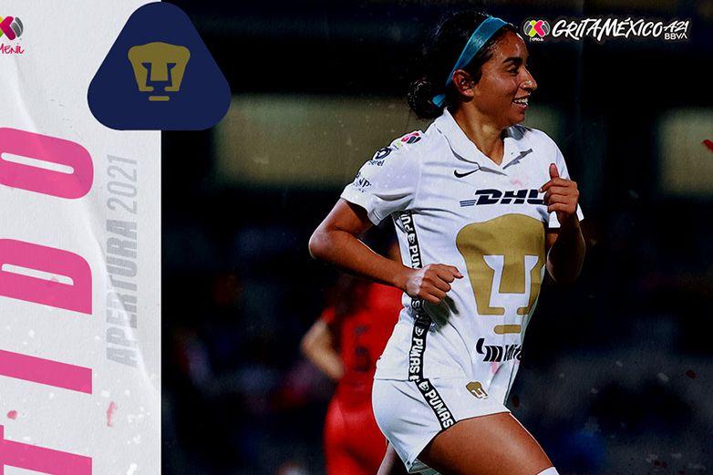 Pumas Femenil despierta y golea a FC Juárez en CU