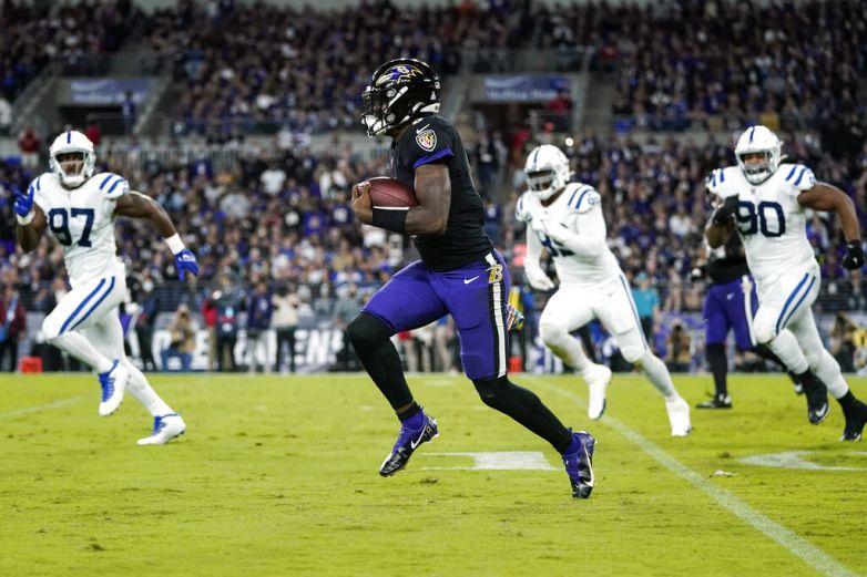 Jackson lidera a los Ravens a una victoria sobre Colts